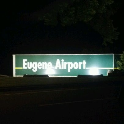 Photo taken at Eugene Airport (EUG) by Colin G. on 6/25/2012