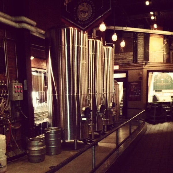 Photo taken at Fegley's Bethlehem Brew Works by Scott .. on 4/28/2012