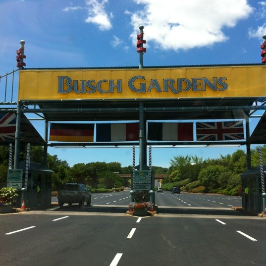 Photo taken at Busch Gardens Williamsburg by Eric D. on 6/15/2012