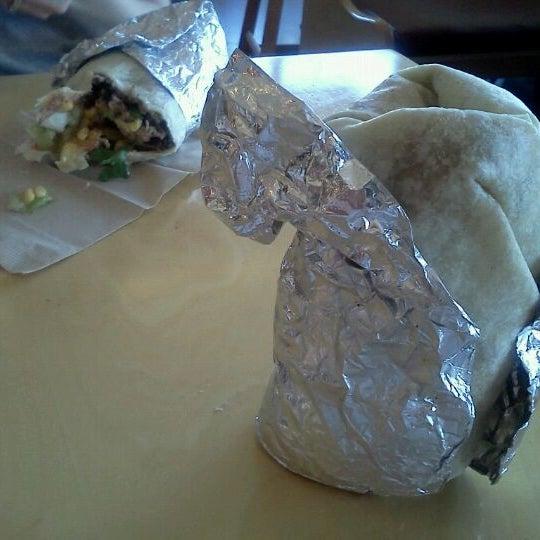 Photo taken at Bandit Burrito by James K. on 8/13/2012