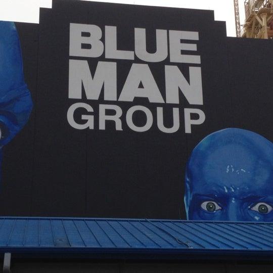 Photo taken at Blue Man Group at Universal CityWalk by Pat B. on 2/17/2012