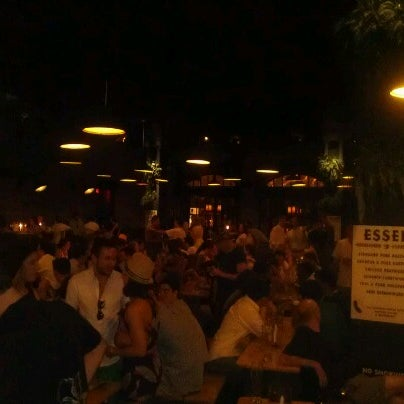 Photo taken at The Biergarten at The Standard by Justin A. on 7/6/2012