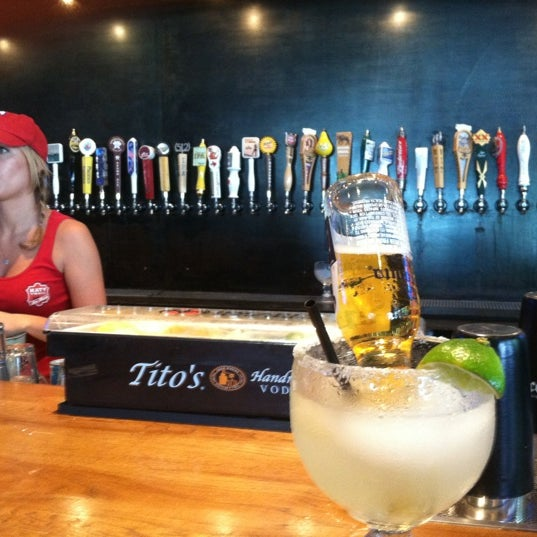 Photo taken at Katy Trail Ice House by Justin E. on 5/28/2012