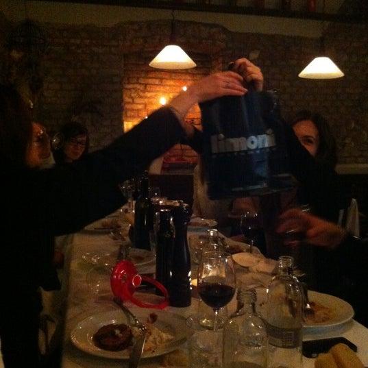 Photo taken at Osteria del Sognatore by Tariz on 3/14/2012
