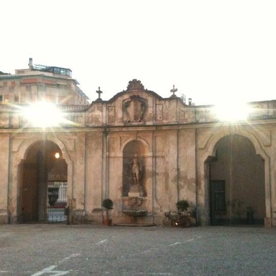 Photo taken at Villa Visconti Borromeo Litta by Davide D. on 6/23/2012