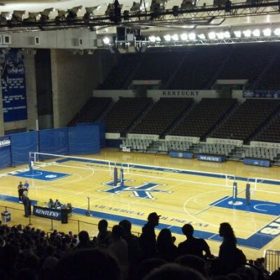 Photo taken at Memorial Coliseum by Eric M. on 11/9/2011