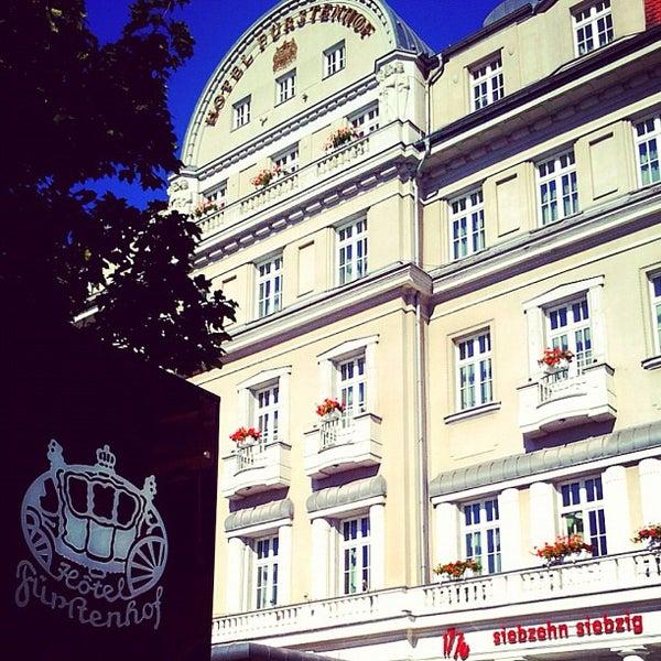Das Foto wurde bei Hotel Fürstenhof von Christian K. am 7/21/2012 aufgenommen