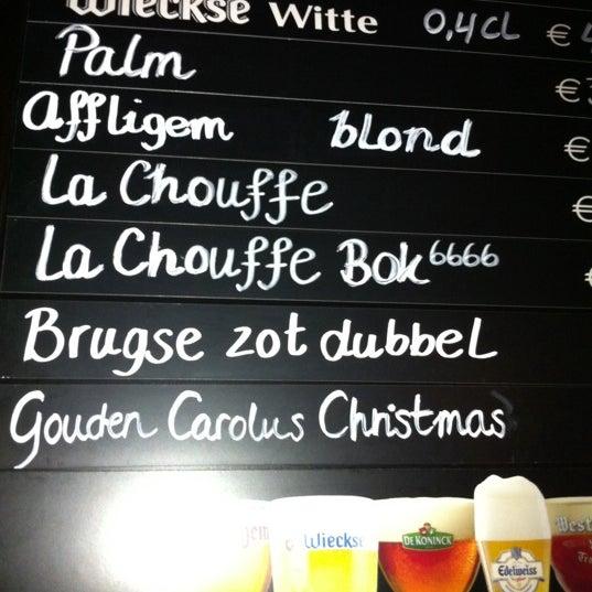 Снимок сделан в Cafe de Schutter пользователем Klasien 1/30/2011