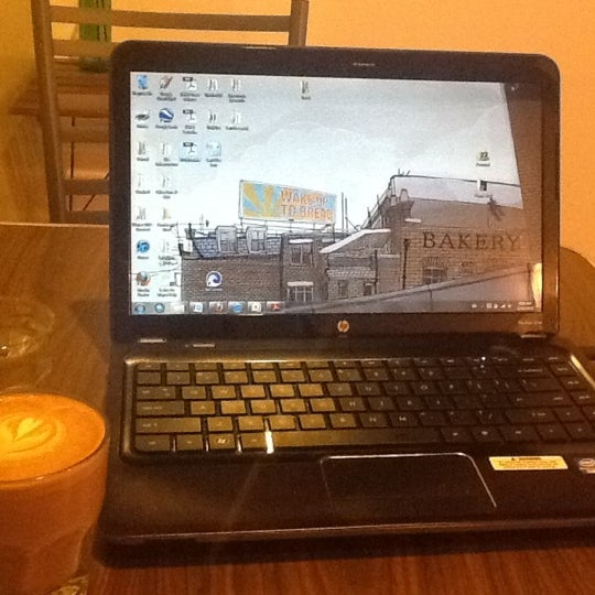 Photo taken at Transcend Coffee by Nathan S. on 2/23/2012