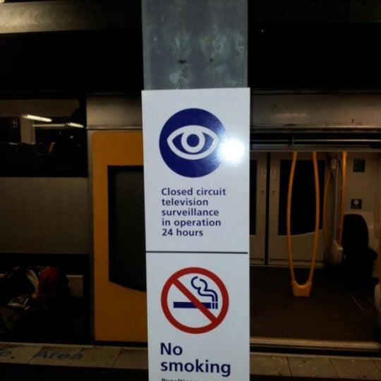 Photo taken at Bankstown Station by Mr G. on 6/20/2012