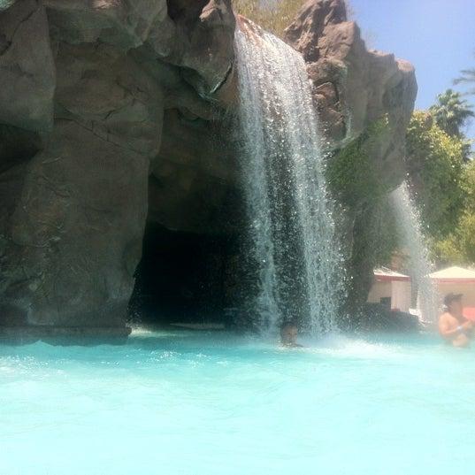 Photo taken at Flamingo GO Pool by Natalie V. on 6/18/2012