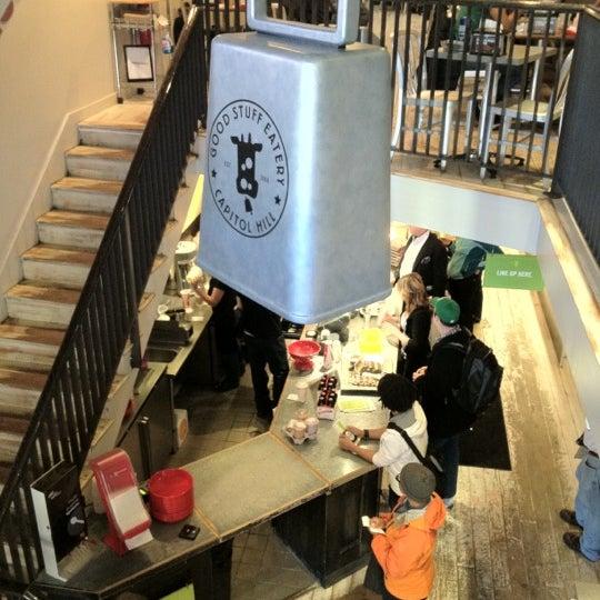 Das Foto wurde bei Good Stuff Eatery von Peter P. am 2/18/2012 aufgenommen