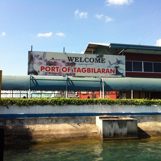 Photo taken at Tagbilaran City Bohol Port by MJ Y. on 8/18/2012