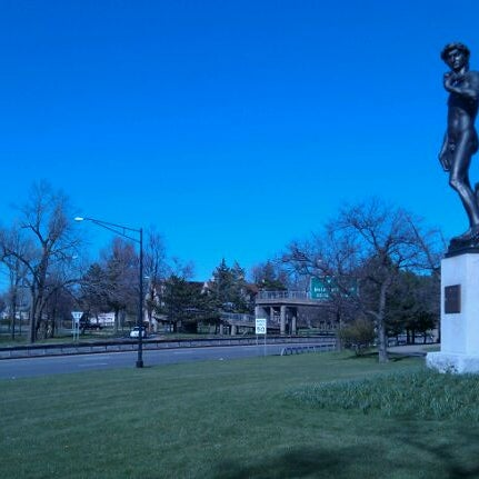 Photo taken at Statue of David by Jim C. on 4/6/2012
