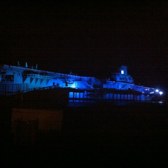 Photo taken at USS Lexington Museum On The Bay by Tommy S. on 8/1/2011