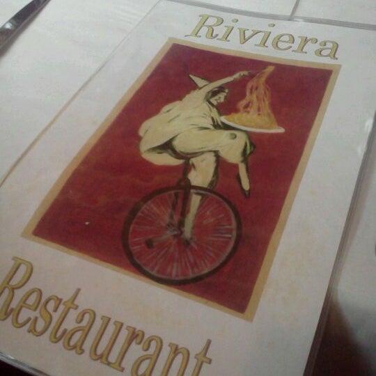 Photo taken at Riviera Ristorante by Josh B. on 5/12/2012