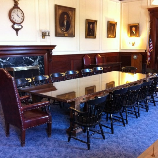 Photo taken at New Hampshire State House by Nathan P. on 10/11/2011