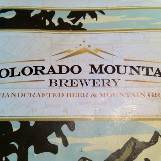 Photo taken at Colorado Mountain Brewery by Steve D. on 10/16/2011