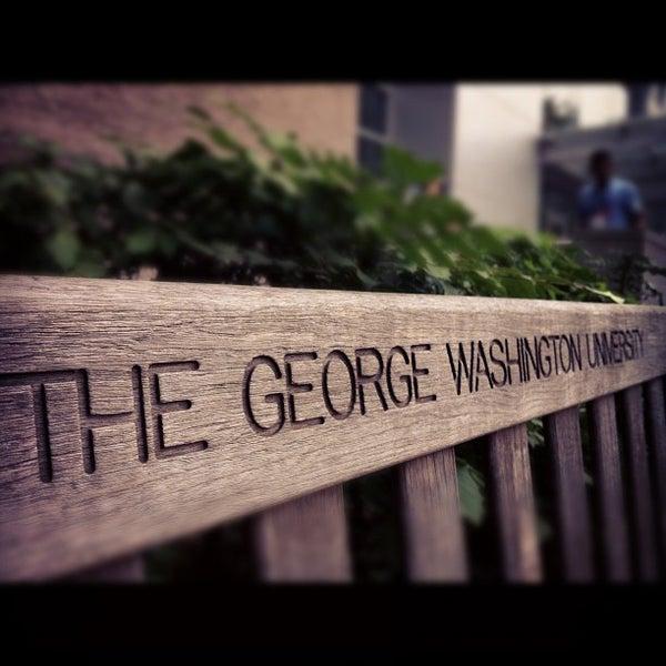 Photo taken at The George Washington University by Habib M. on 7/14/2012