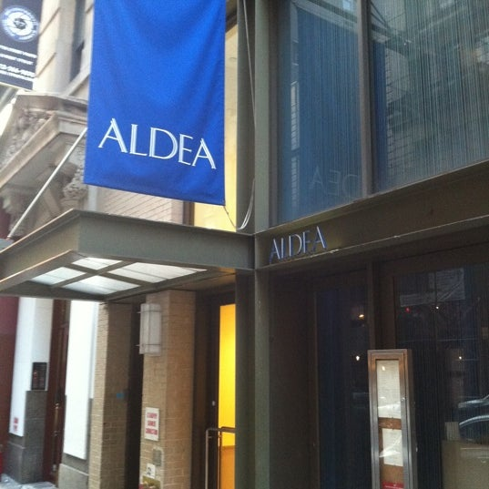 Photo taken at Aldea by I-Yuan C. on 6/8/2011