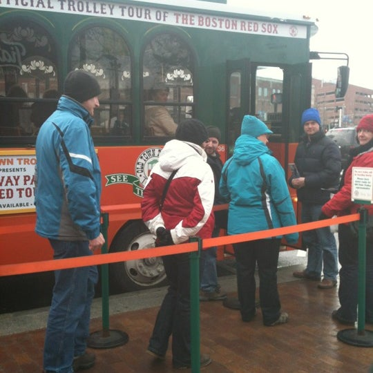 Photo taken at Old Town Trolley Tours of Boston by Claire B. on 2/11/2012