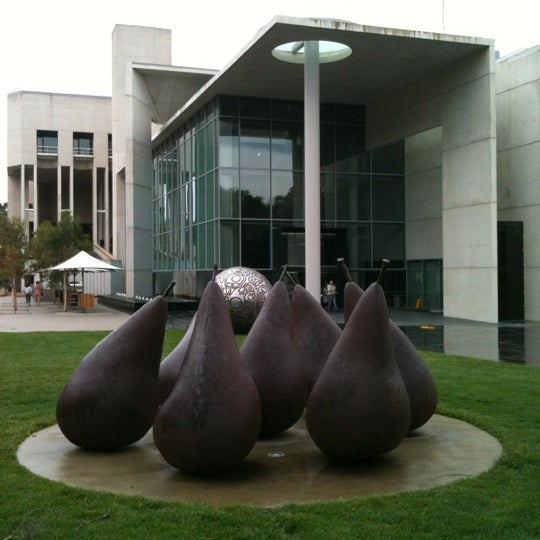 Photo taken at National Gallery of Australia by Michelangelo W. on 11/20/2011