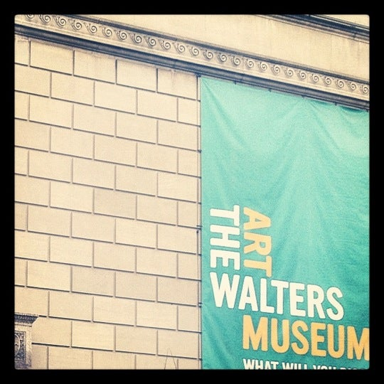 Photo taken at Walters Art Museum by Alyssa P. on 3/2/2012