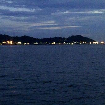 Photo taken at Pelabuhan speedboat kampung baru by Bintang K. on 3/3/2012