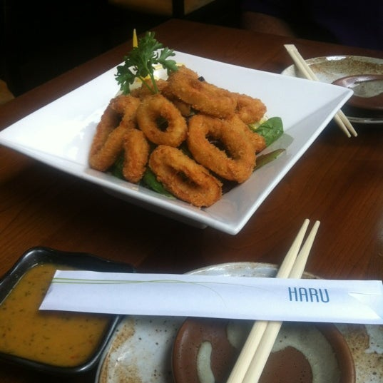 Photo taken at Haru by Latasha T. on 7/7/2012