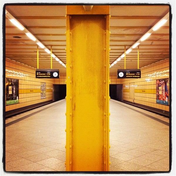 Photo taken at U Weberwiese by Stefan M. on 11/22/2011