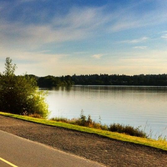 Photo taken at Green Lake Boathouse by Erik B. on 6/28/2012