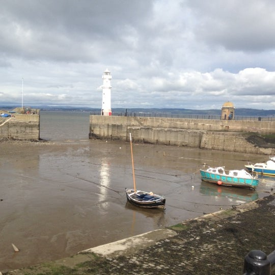 Photo taken at Newhaven Harbour by Gabi S. on 4/8/2012