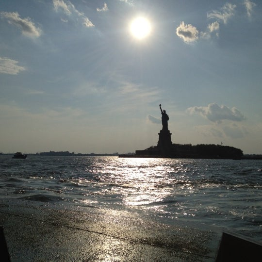 Photo taken at New York Harbor by Nicole on 7/4/2012