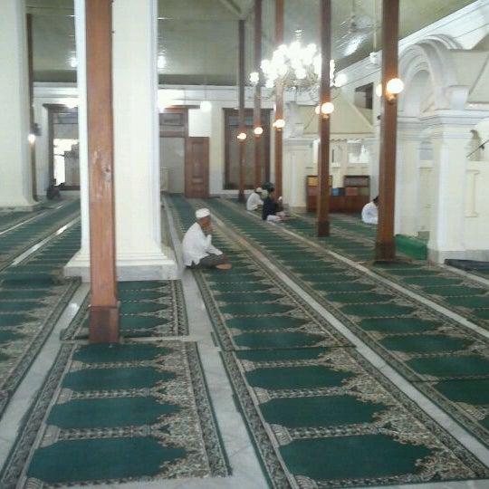 Photo taken at Masjid Jami' Kauman Pekalongan by Tama M. on 12/30/2011