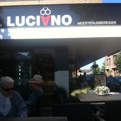 Photo taken at Luciano's ijssalon by Laura R. on 7/24/2012