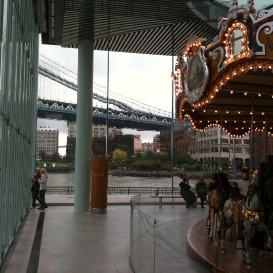 Photo taken at Jane's Carousel by David S. on 10/1/2011