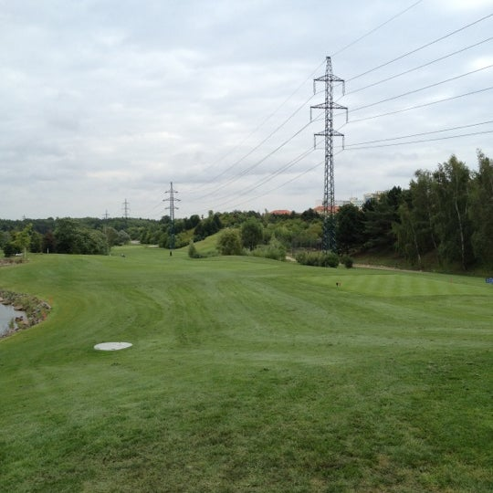 Photo taken at Golf Hostivař by Petis on 7/18/2012