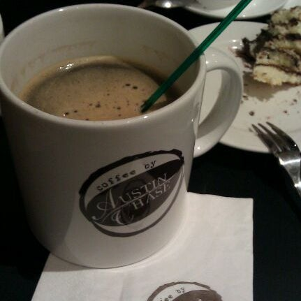 Photo taken at Austin Chase Coffee by Stephanie L. on 1/1/2012