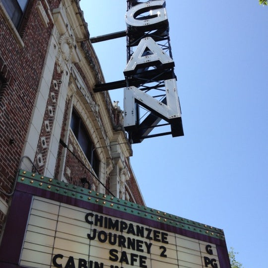 Photo taken at Logan Theatre by Bruce C. on 5/13/2012