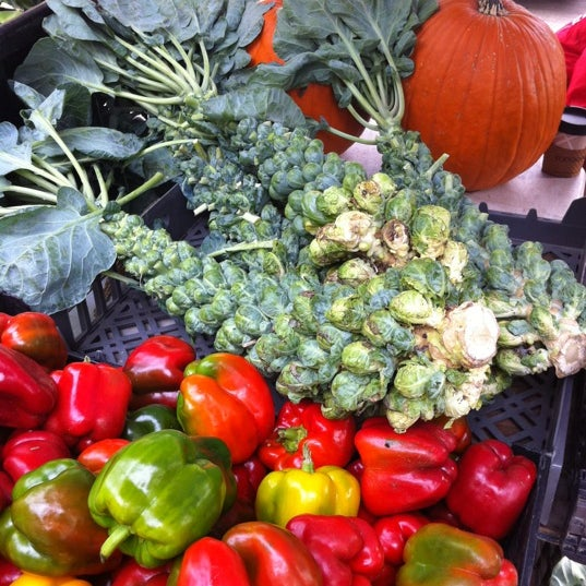 Photo taken at Dane County Farmers' Market by Amanda D. on 10/15/2011
