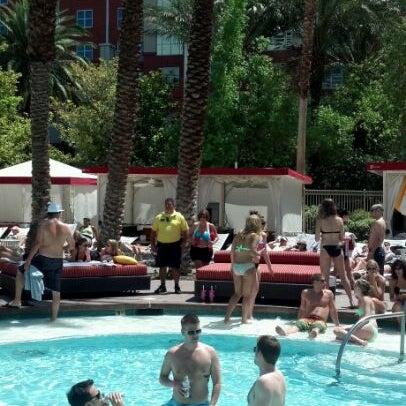 Photo taken at Flamingo GO Pool by Scott A. on 5/25/2012
