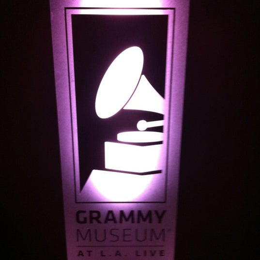 Photo taken at The GRAMMY Museum by Alejandro P. on 7/24/2012
