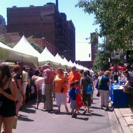 Photo taken at Printers Row Lit Fest by Louisa B. on 6/9/2012