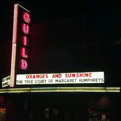 guild theatre movie theater in downtown menlo park