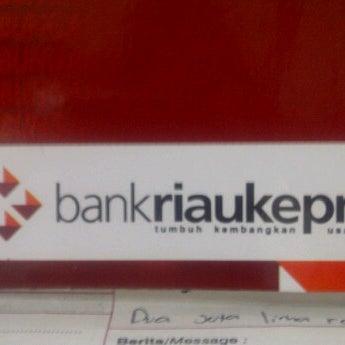 Photo taken at BankRiauKepri by Ilham S. on 9/13/2011