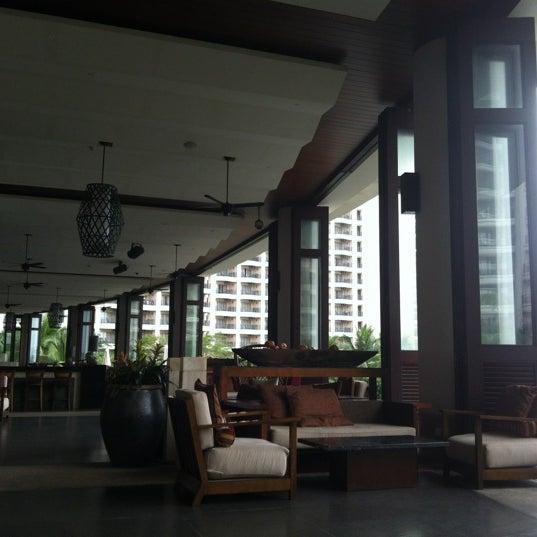 Photo taken at HowardJohnson Resort Sanya Bay by ellie ʕ. on 4/9/2012