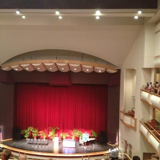 Photo taken at Curtis M. Phillips Center for the Performing Arts by Kali G. on 4/15/2012