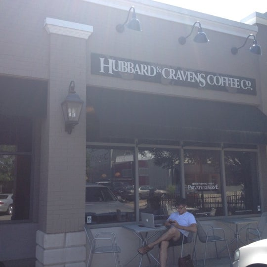 Photo taken at Hubbard & Cravens Coffee and Tea by Pat C. on 5/24/2012