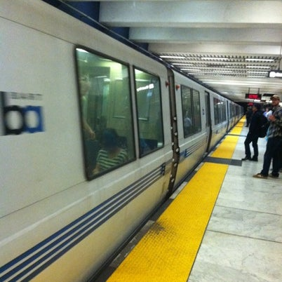 Photo taken at Civic Center/UN Plaza BART Station by Keoni F. on 7/20/2012