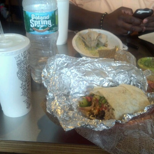 """Photo taken at Chipotle Mexican Grill by Geshawn """"Lou"""" W. on 7/21/2012"""
